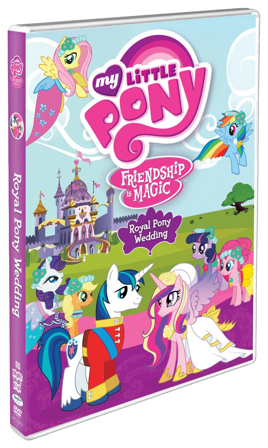 My little pony friendship is magic coloring pages best night ever - My Little Pony Friendship Is Magic Royal Pony Wedding Dvd