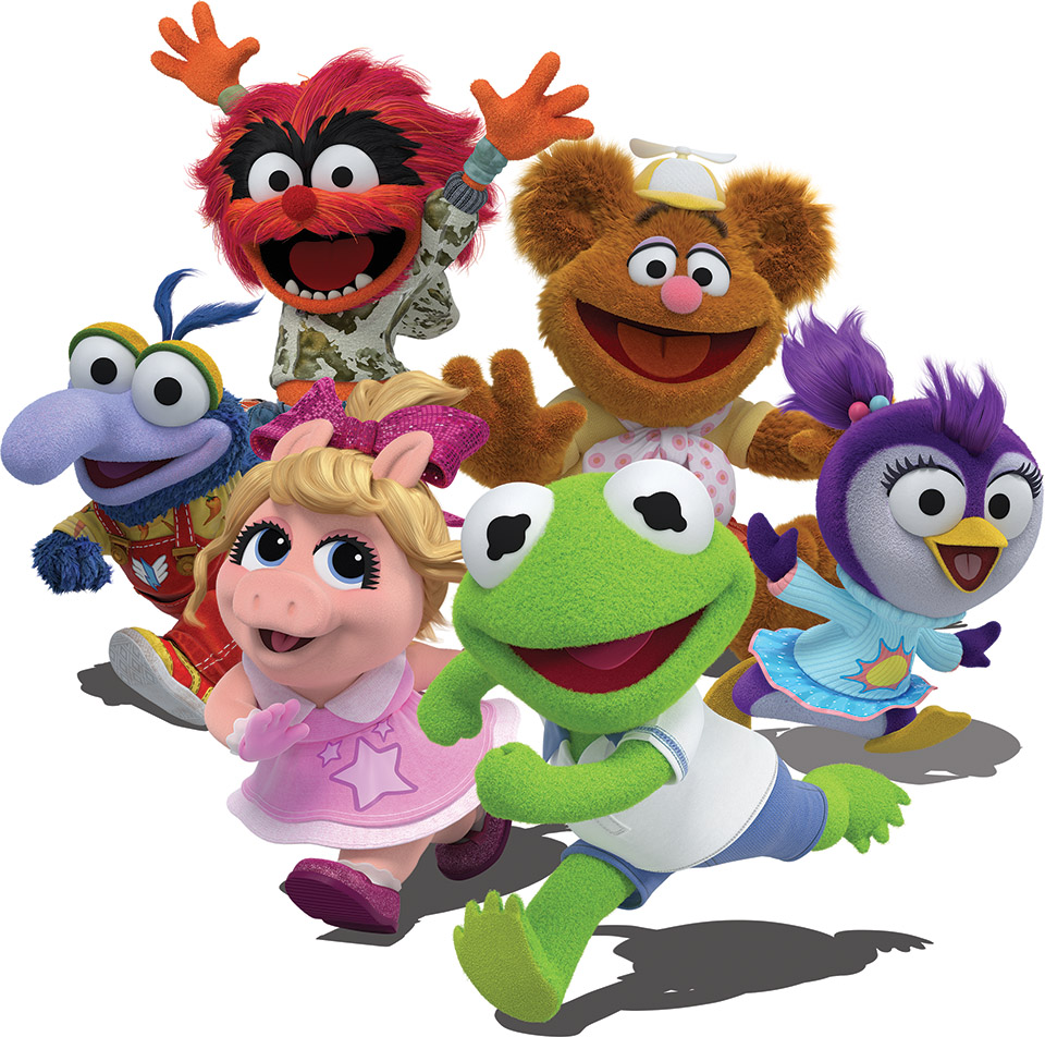 Muppets Animal Free Printable: Muppet Babies: Revisiting The Babies' Rainbow Connection
