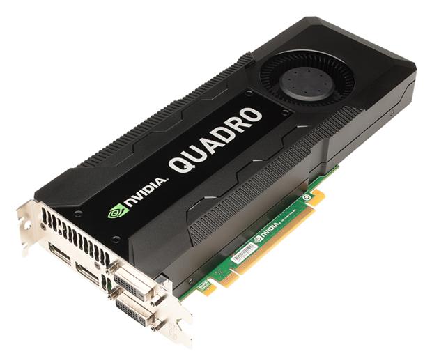NVIDIA's Quadro K5000