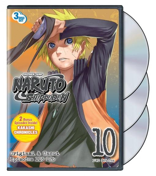 Naruto Shippuden: Set 10 DVD