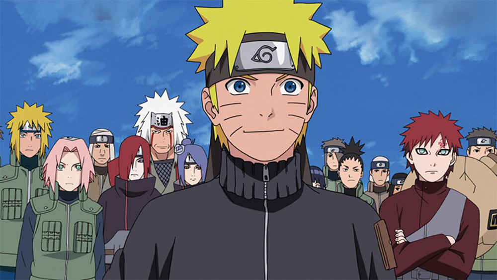 Naruto Shippuden. Image credit: Courtesy of Funimation