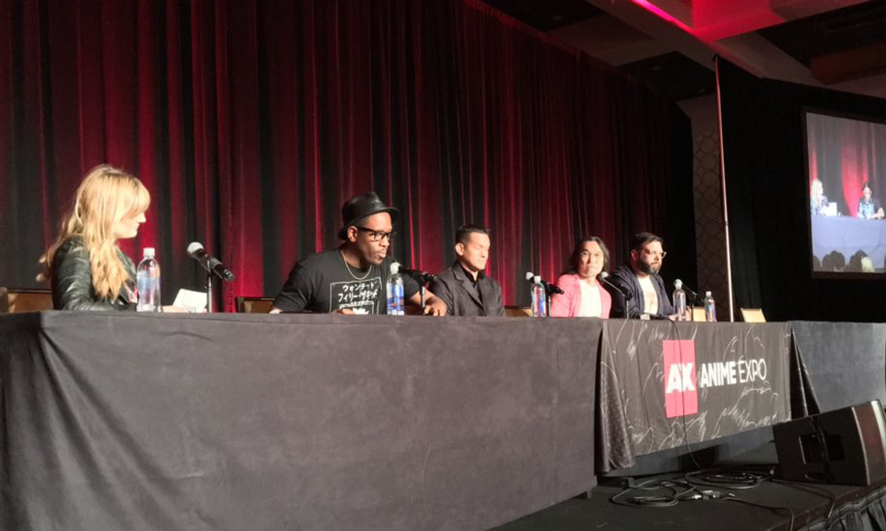 Netflix panel: Photo courtesy of @NXOnNetflix