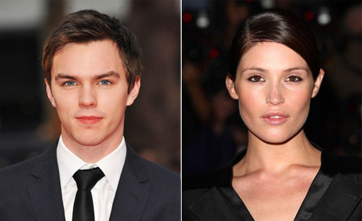 (from left) Nicholas Hoult and Gemma Arterton