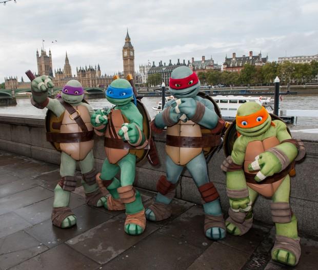 Nickelodeon's Teenage Mutant Ninja Turtles take over London
