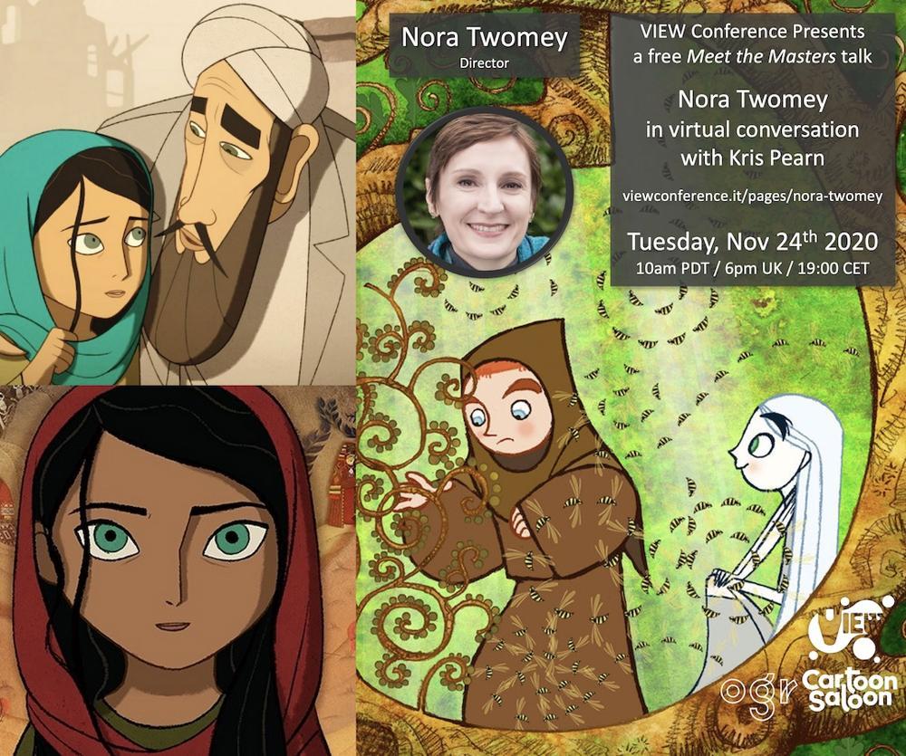 Nora Twomey talk