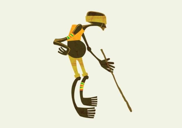 Nwavu The Blind Man