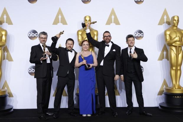 Andrew Whitehurst, Paul Norris, Mark Ardington, and Sara Bennett Win Best Visual Effects for Ex Machina