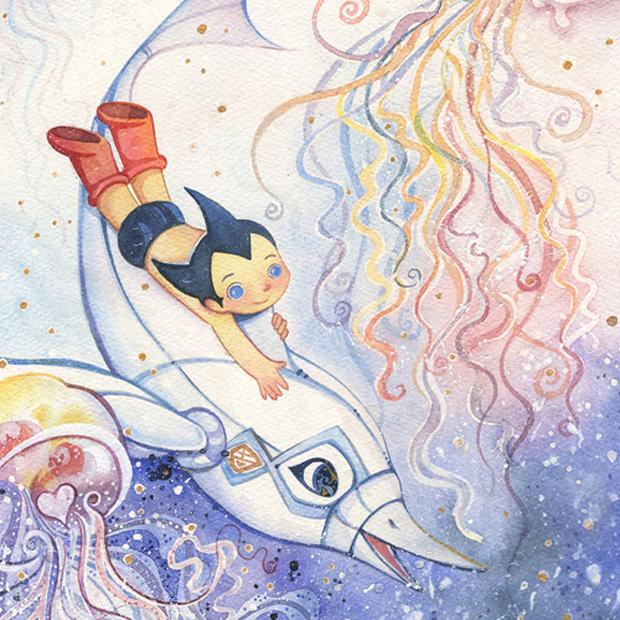 """Ocean Adventure"" by Alina Chau"