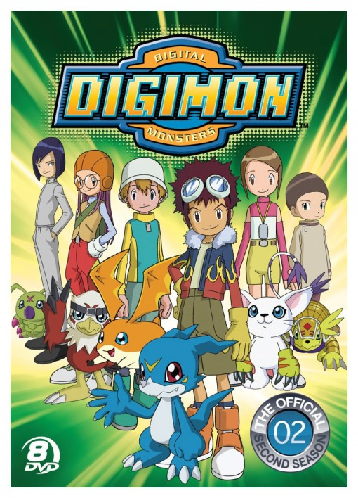 Official Digimon Adventure Set: The Complete Second Season