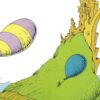 """Illustration from the popular book Dr. Seuss's Oh the Places You'll Go, which tells readers, """"You're on your own. And you know what you know. And YOU are the guy who'd decide where to go. You'll look up and down streets. Look 'em over with care!"""" © Random House, 1990."""