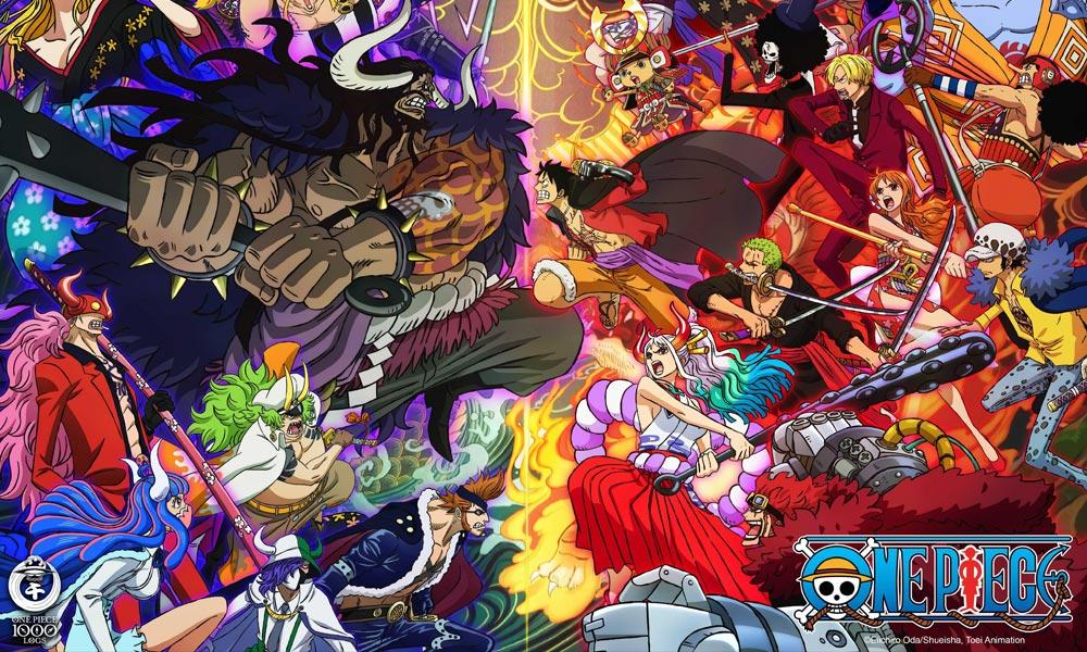 One Piece: 1,000th Episode Art © Eiichiro Oda/Shueish, Toei Animation