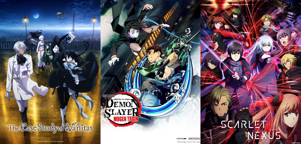 The Case Study of Vanitas | Demon Slayer -Kimetsu no Yaiba- The Movie: Mugen Train | Scarlet Nexus