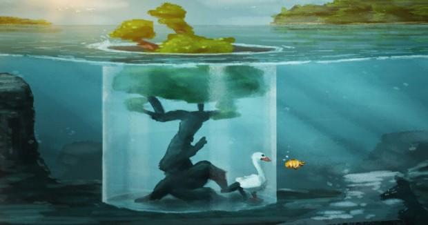 Original artwork by Ben Streek, UTS Animal Logic Academy Cohort 2017