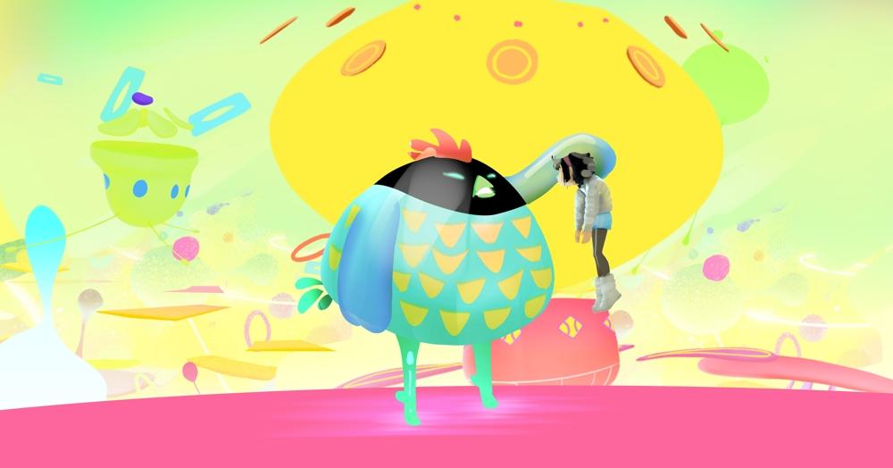 Over the Moon concept artwork by Céline Desrumaux.