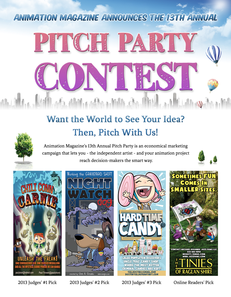 Animation Magazine's 2014 Pitch Party Contest