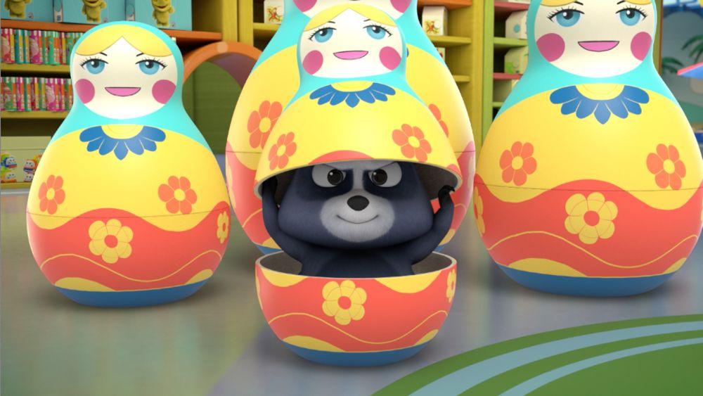 Panda and Krash