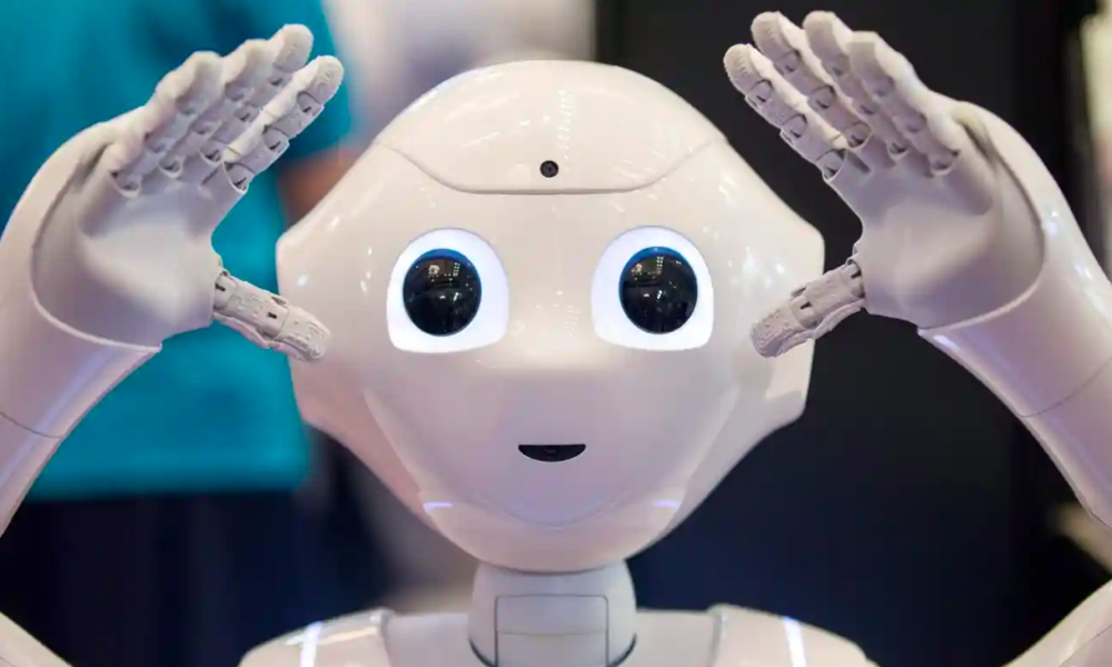 Work Smarter: You too can learn to be as efficient and productive as this Pepper humanoid robot by labeling and archiving all your created content!