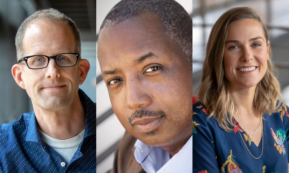 Pete Docter, Kemp Powers, Dana Murray
