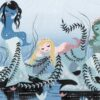 Peter Pan mermaids concept by Mary Blair
