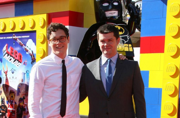 (from left) Phil Lord and Christopher Miller