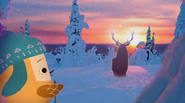Pikkuli and the Great White Reindeer