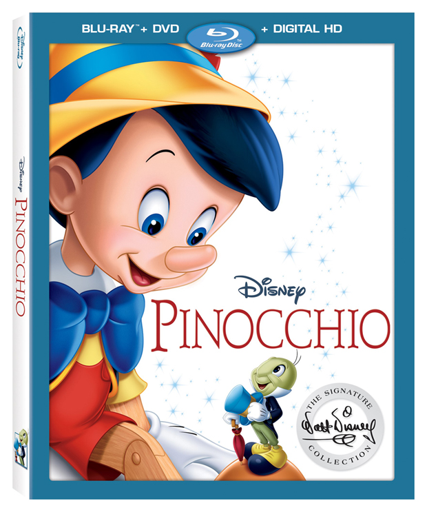 Pinocchio Signature Collection Blu-ray