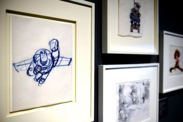 Pixar: 25 Years of Animation exhibit