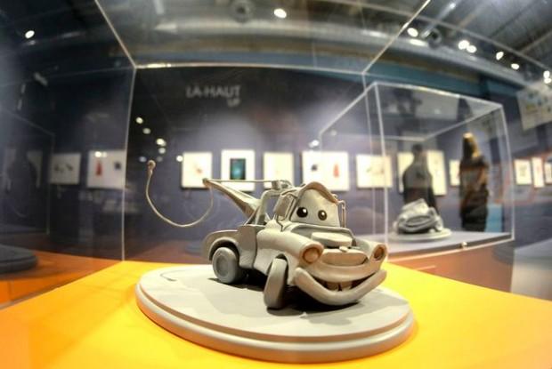Pixar: 25 Years of Animation exhibit