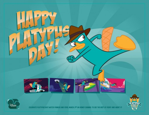 Phineas and Ferb National Platypus Day