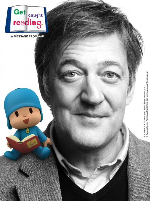 Pocoyo Gets Caught Reading with Stephen Fry