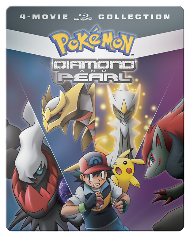Pokémon Diamond & Pearl Movie Pack