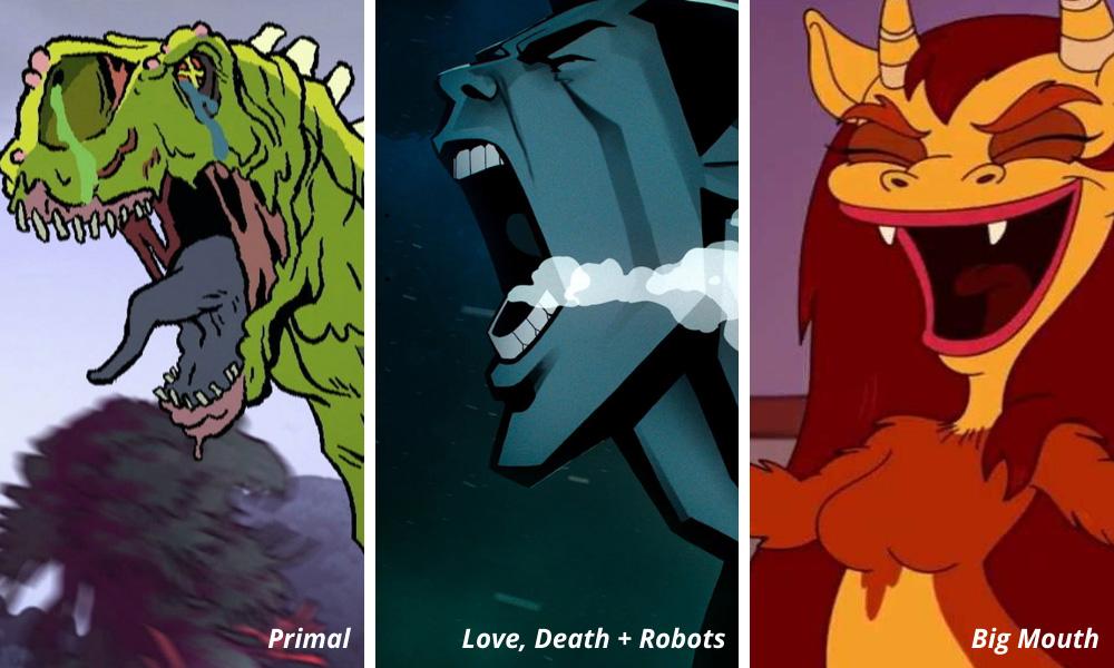 Primal   Love, Death + Robots   Big Mouth