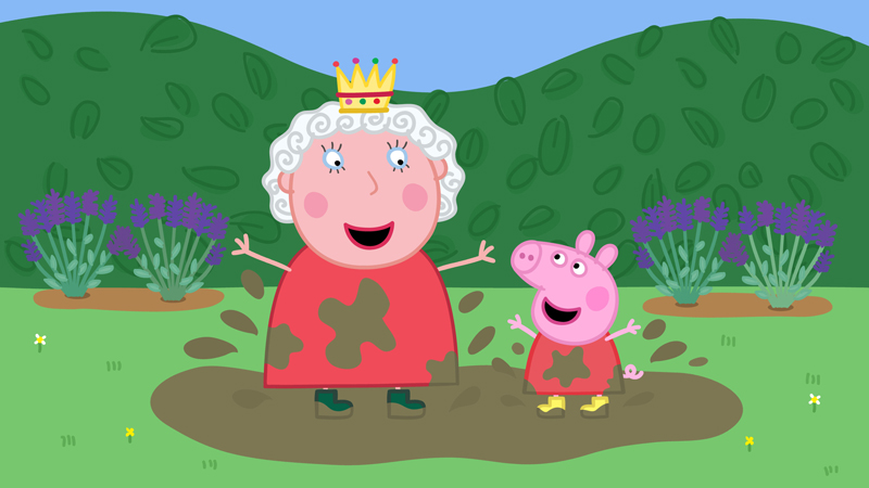 Peppa Pig and the Queen