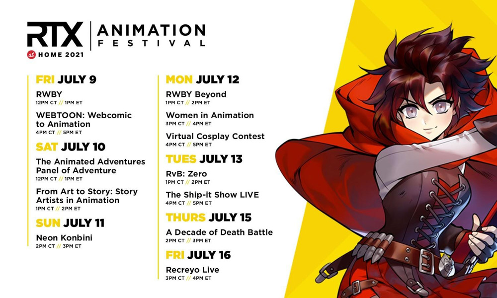 RTX at Home Animation Festival