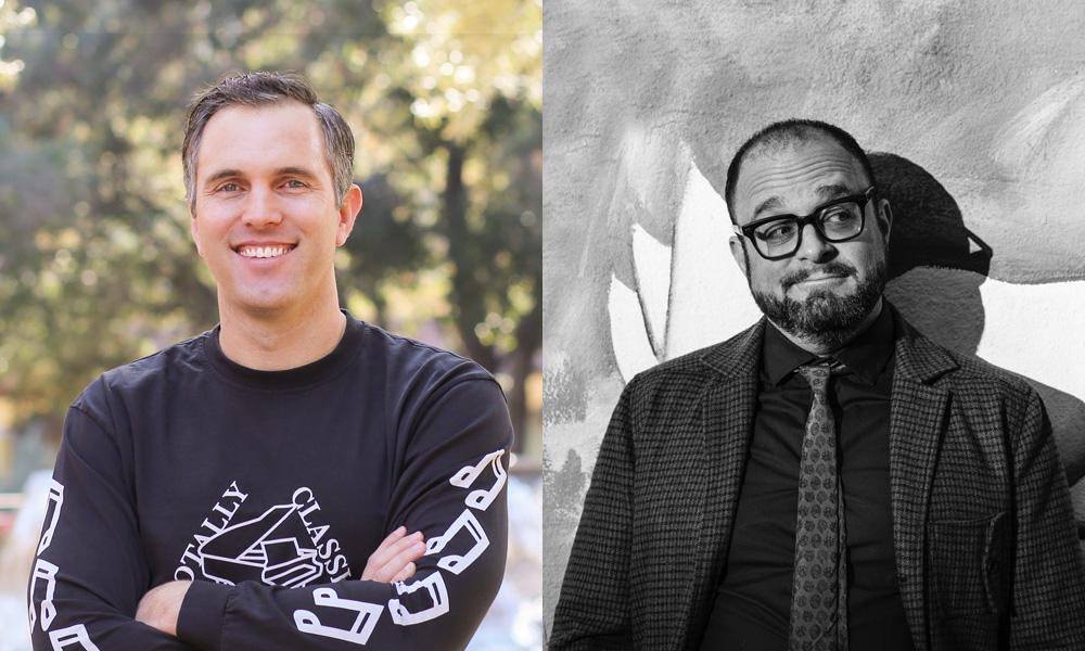 Rad Sechrist and Bill Wolkoff