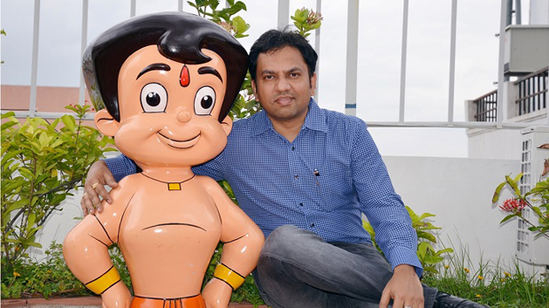 Rajiv Chilaka, founder and Managing Director of Green Gold Animation