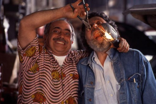 (from left) Ray and Tom Magliozzi