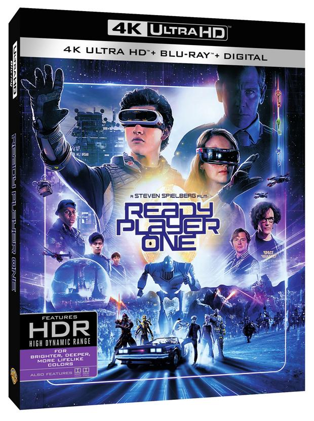 Ready Player One 4k Ultra HD, Blu-ray, Digital