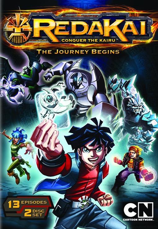 Redakai: Conquer the Kairu - The Journey Begins DVD