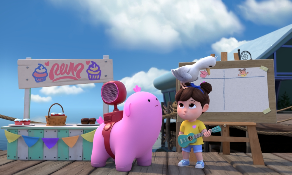 Remy & Boo (Courtesy of Boat Rocker Studios)