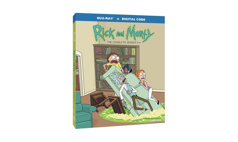 Rick and Morty: Seasons 1-4