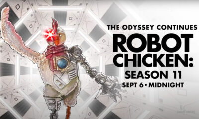 The 11th season of Robot Chicken premieres on Adult Swim on Sept. 6.
