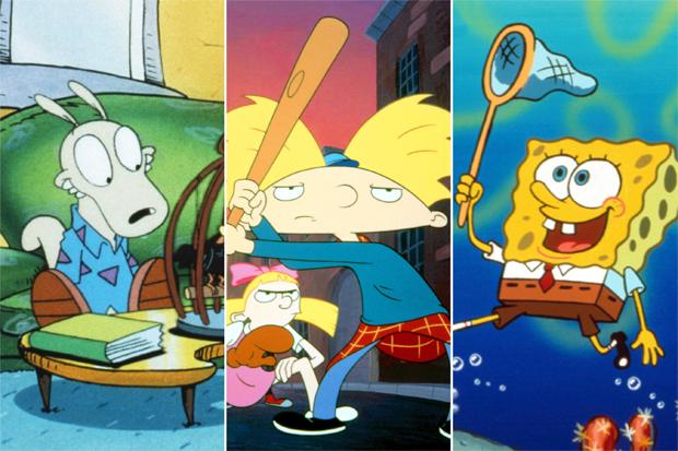 Rocko's Modern Life / Hey Arnold! / SpongeBob SquarePants
