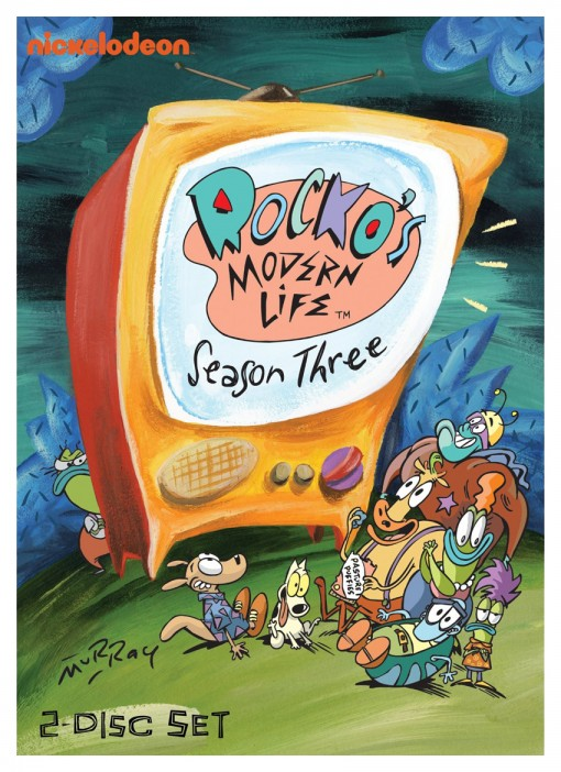 Rocko's Modern Life: Season Three DVD pack