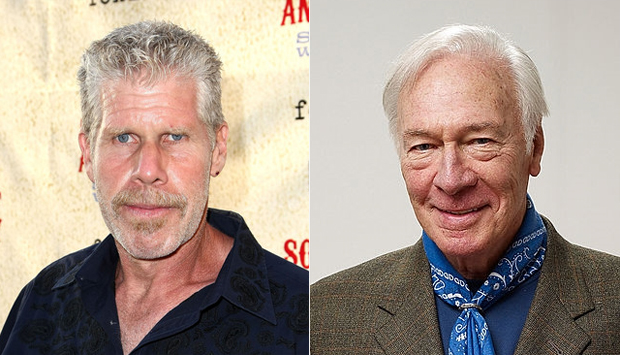 Ron Perlman and Christopher Plummer
