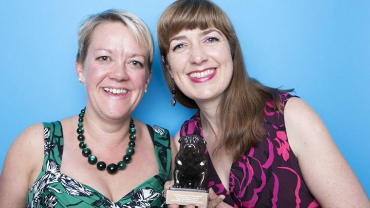 Lupus Films founders Ruth Fielding and Camilla Deakin