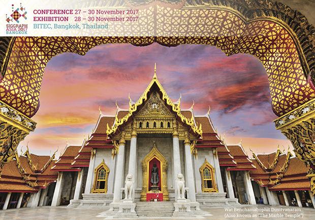 SIGGRAPH Asia 2017 Bangkok