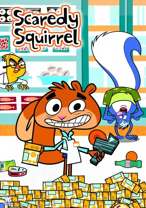 Nelvana's Scaredy Squirrel