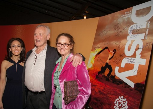 SVA 2013 Dusty Awards - (Left to Right) Annie  Flocco, Reeves Lehmann and Melissa Leo (Photo Credit - Richard Scalzo)