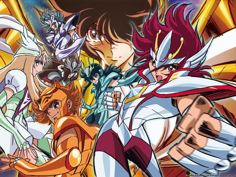 [Anime do Mês] - Os Cavaleiros do Zodíaco Saint-Seiya-post1